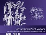 Vector Nouveau Plants - Light