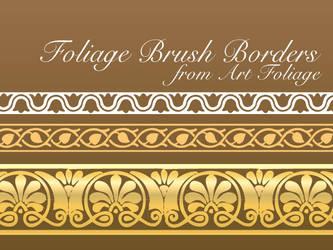 Art Foliage Vector Brushes