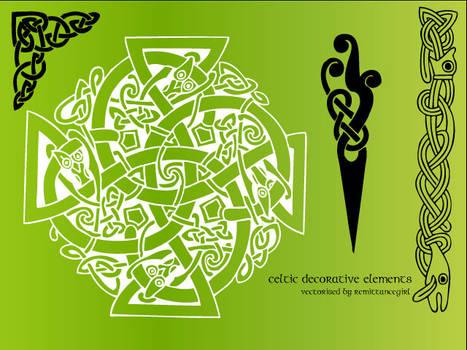 Celtic decorative Vectors