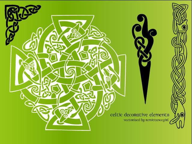 Celtic decorative Vectors by remittancegirl