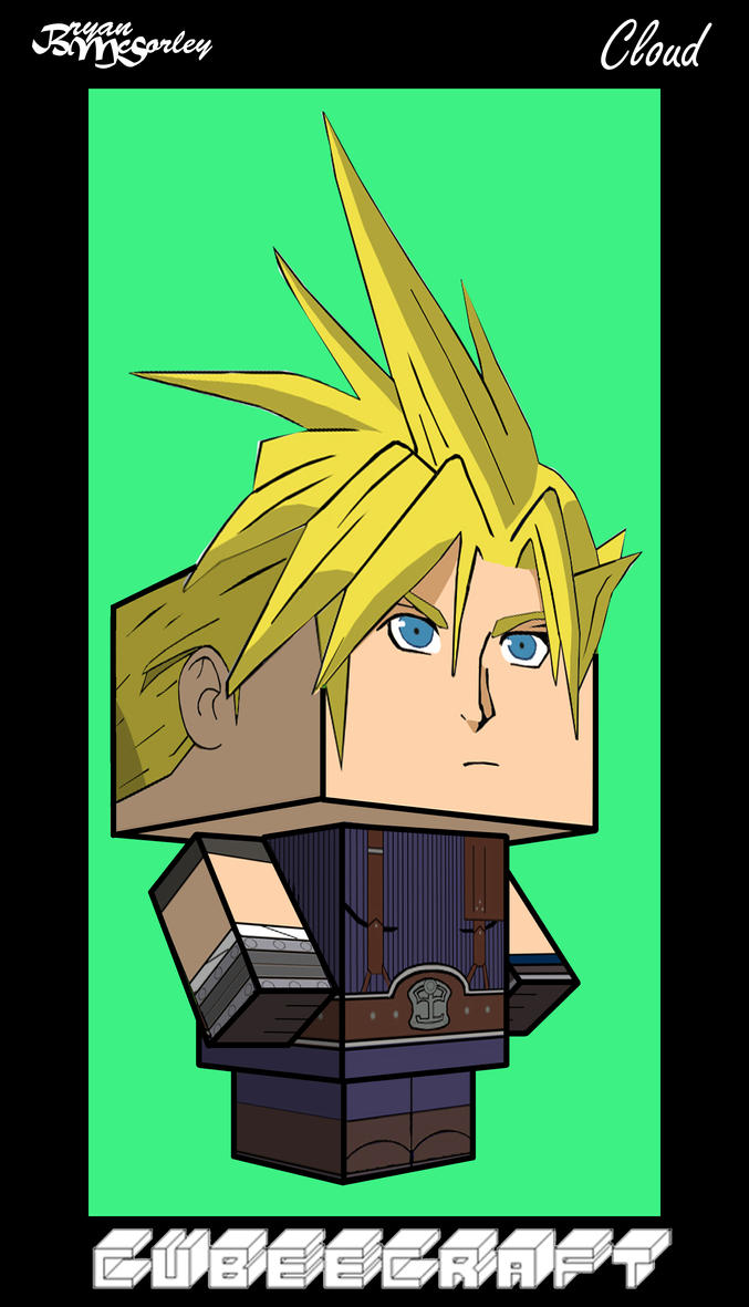 Wie Open Office Querformat Cloud Strife Ff By Flamesearth