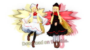 Lily White and Lily Black -Arlvit Style- [DL]