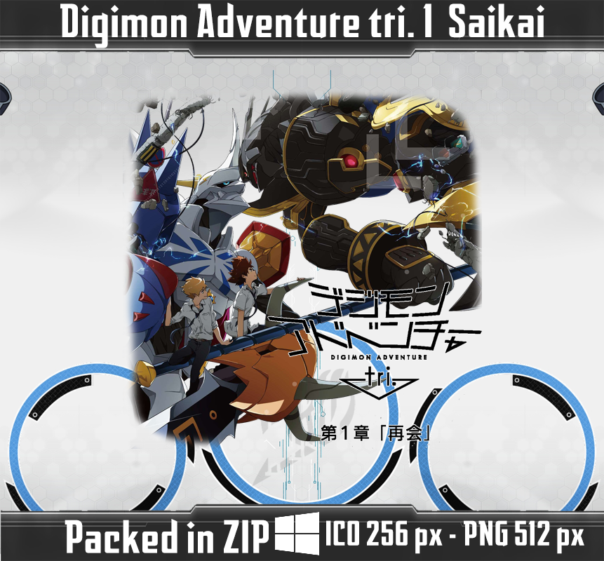 Image Result For Digimon Adventure Tri Saikai