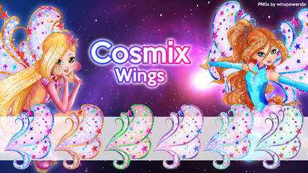 COSMIX WINGS - Pack by Feeleam