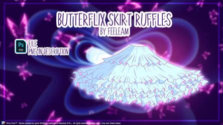 *NEW* WINX CLUB | Butterflix Skirt Base