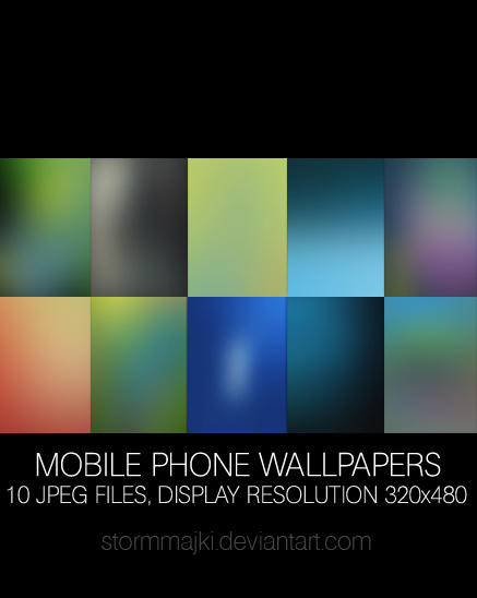 Mobile Phone Wallpapers Pack by stormMajki