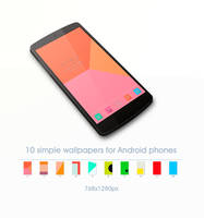 Simple  Color Android Wallpapers by stormMajki