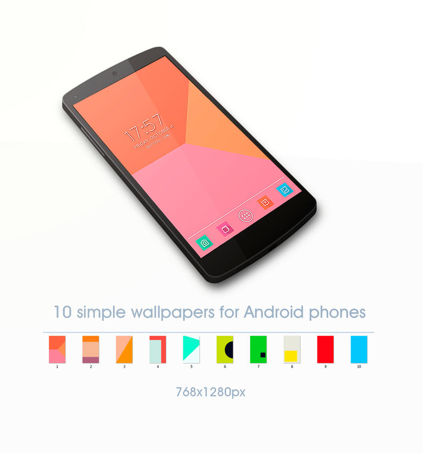 Simple Color Android Wallpapers by stormMajki on DeviantArt
