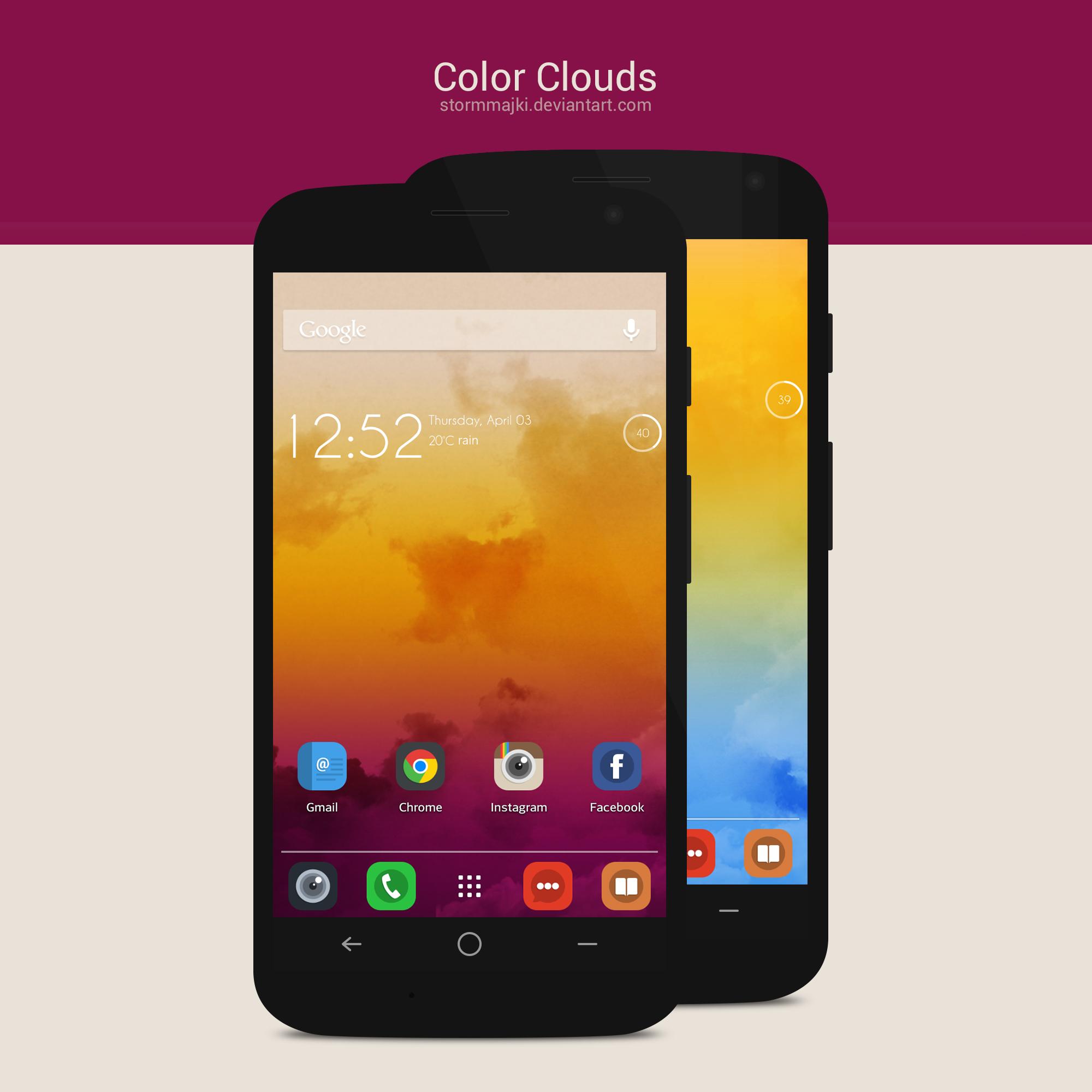 Color Clouds Wallpaper