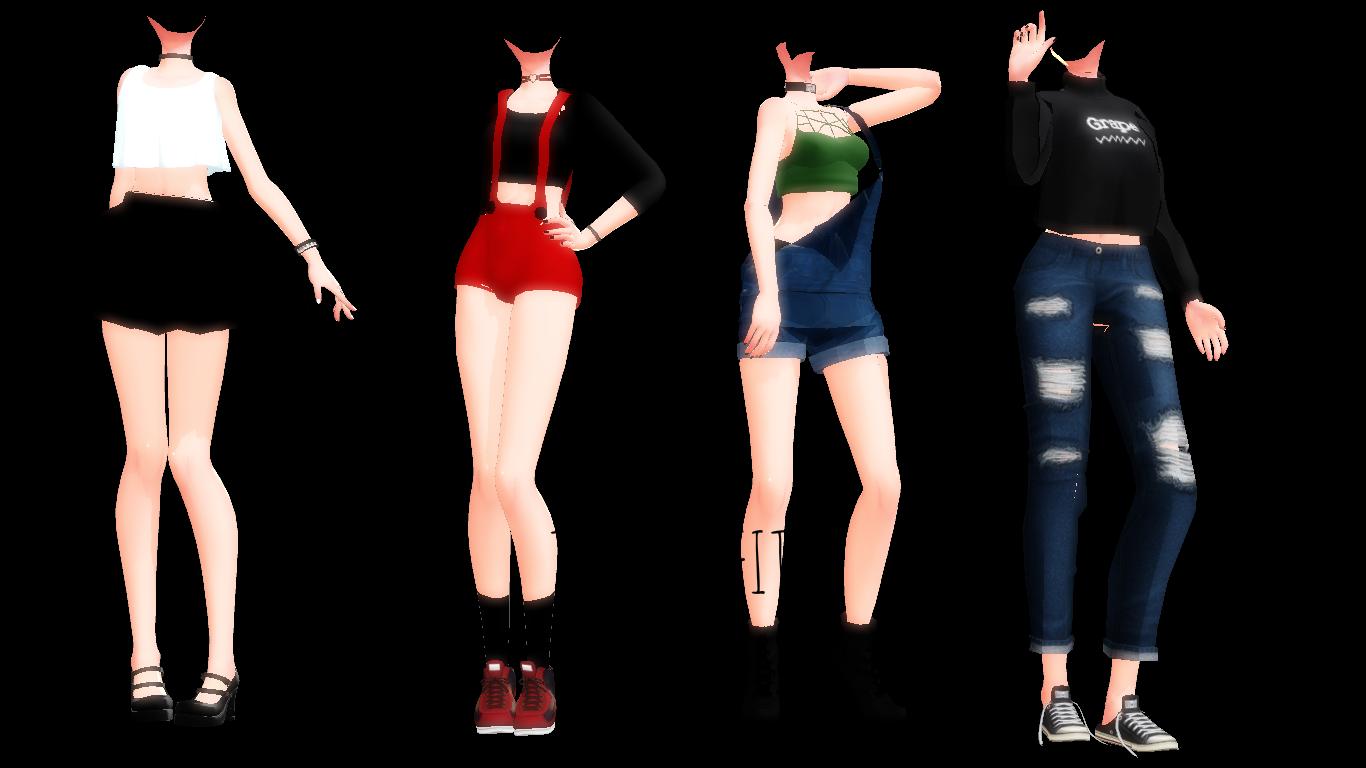||MMD||TDA Outfits Dl|| by NekoMMD24