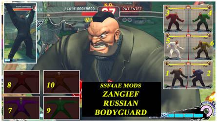 Zangief russian bodyguard (Reupload) by DJ7493
