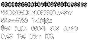 Rupee Font