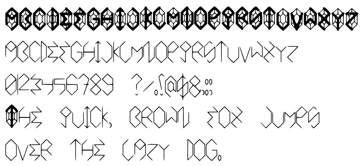 Rupee Font by GWBinvincible
