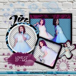 Pack Png 448 | LOVELYZ | Jin | #1 by IDreamWithFire