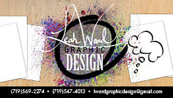 Leah Ward Graphic Design by AwkWardViolinist
