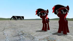 Rainbow Dash's Sunglasses prop