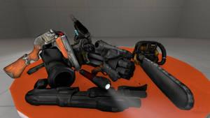 [DL] Doom3 Weapons by BeardedDoomGuy