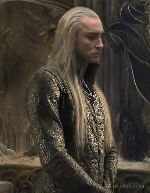 King Thranduil x HumanReader- My heart shall weep by