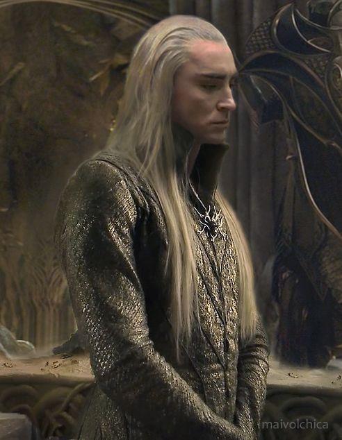 King Thranduil x HumanReader- My heart shall weep by