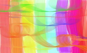 Rainbow Swirls by lM-BATMAN