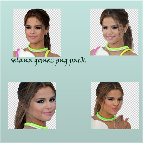 Selena Gomez Png Pack by bellarinagirl
