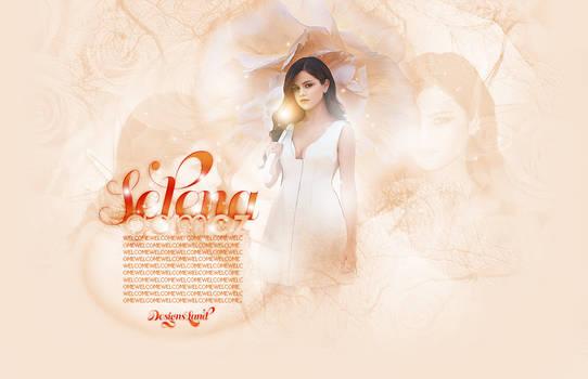 Selena Gomez Header PSD