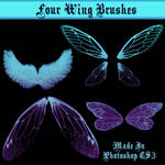 Four Wing Brushes