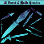 Knife and Sword Brushes