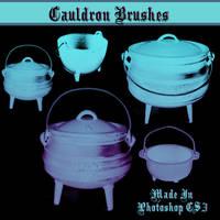 Cauldron Brushes by dollieflesh-stock