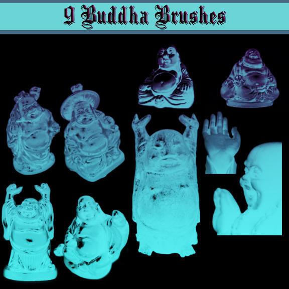 Buddha Brushes by dollieflesh-stock