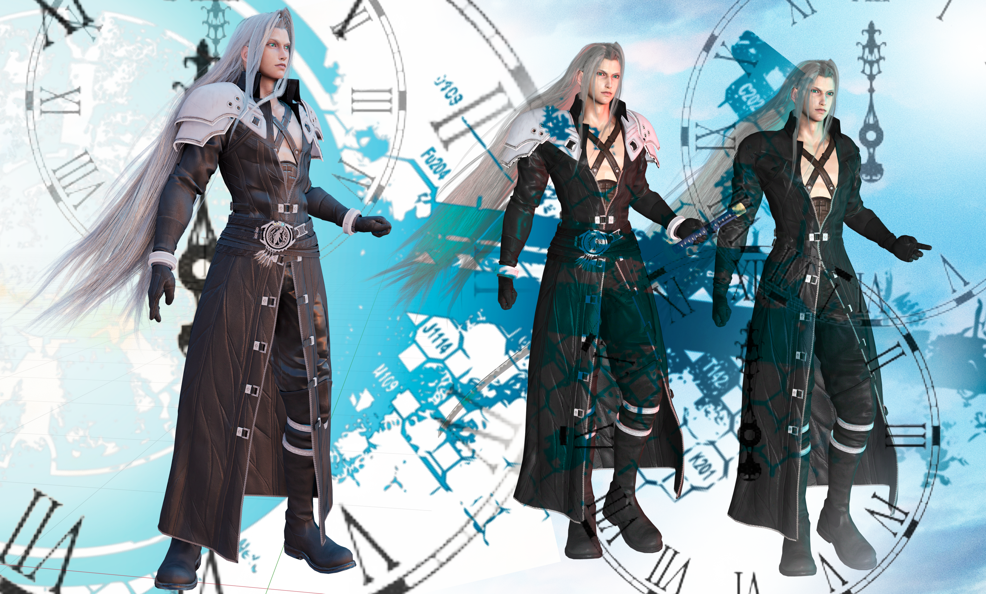 Final Fantasy 7 Remake Sephiroth By Risingalyx On Deviantart