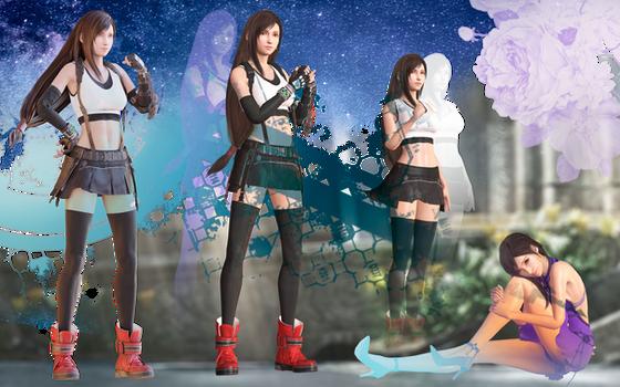 Final Fantasy 7 Remake - Tifa Lockhart