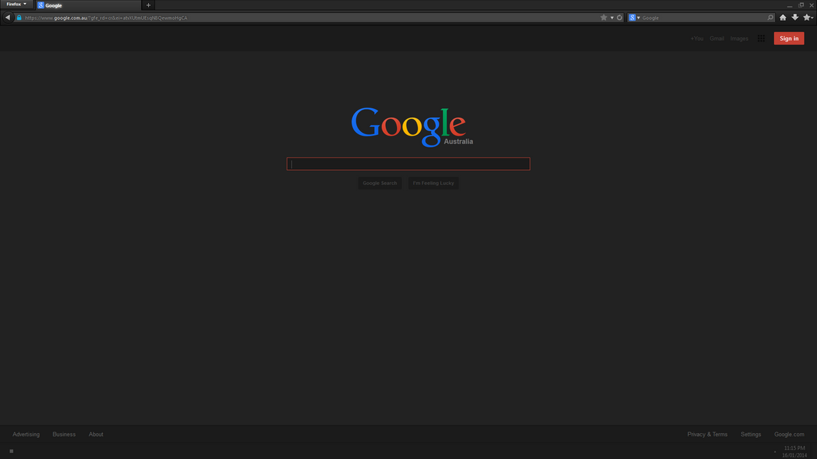 dark google theme for stylish by vector chan on deviantart