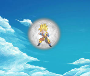 Mystic Ki Forcefield Concept (Animated)