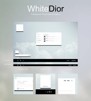 [UPDATE] WhiteDior Visual Style for Windows 8/8.1