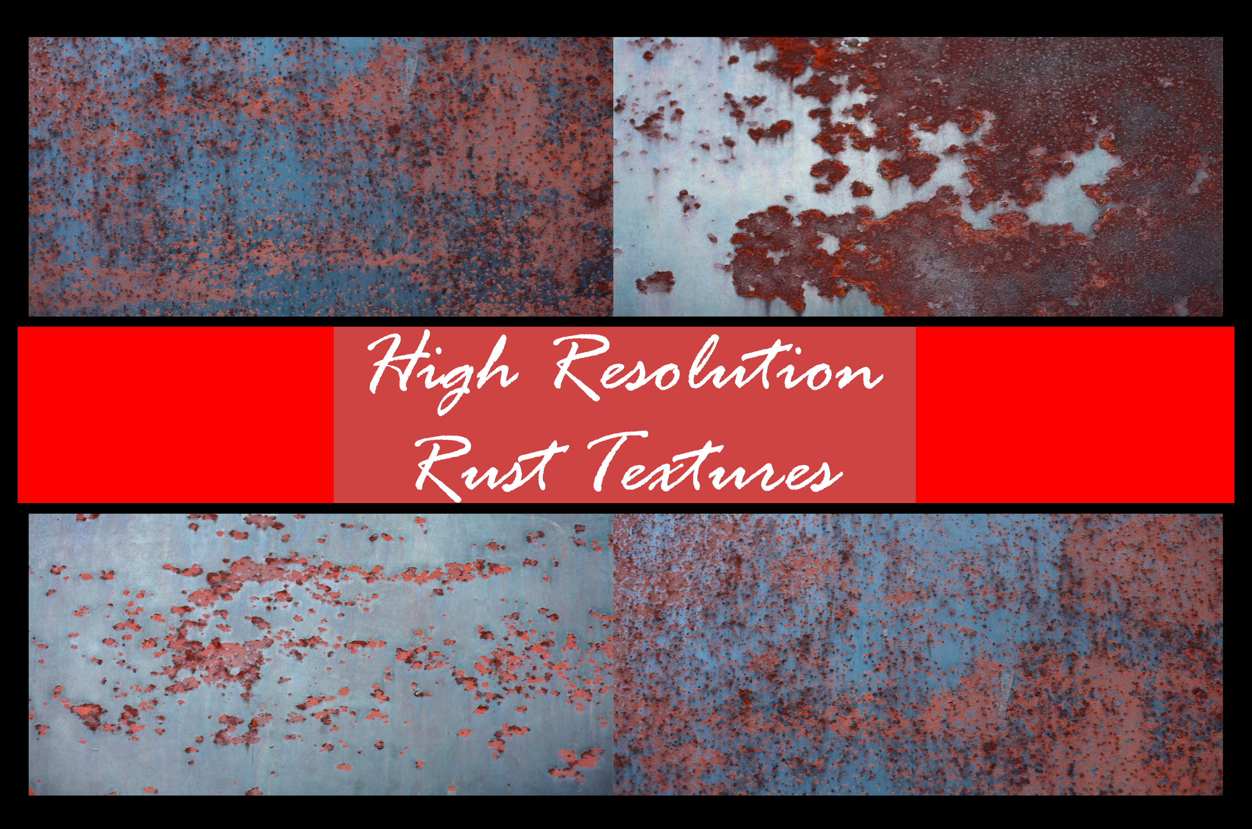 Hi Res Rust Texture Pack by shhhhh-art-Stock