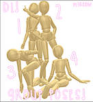 .::MMD::. |Group Poses| .::DL::.