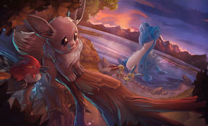 Sunset Eevee