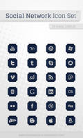 Social Networks Icon Set v3