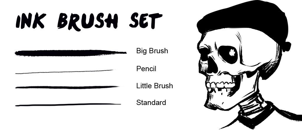 Ink Brush Set by engelszorn on DeviantArt