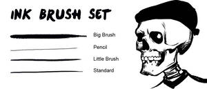 Ink Brush Set