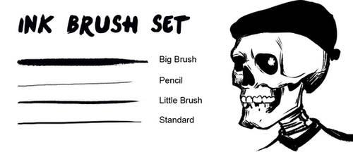 Ink Brush Set by engelszorn
