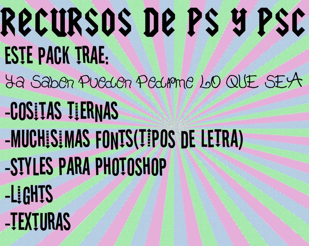 Recursos Photoshop y Photoscape by PaoBelieberBabe