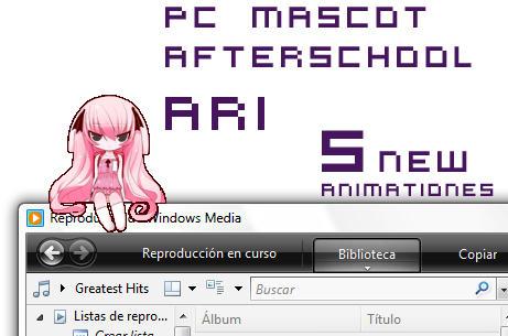 PC MASCOT Afterschool Ari by B0RN-T0-DIE