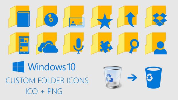 Windows 10 Custom Folder Icons