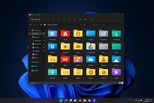 Windows 11 Folder Icons