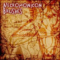 Necronomicon Brushes by DarkNova666