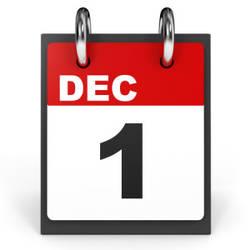 When December 1st happens