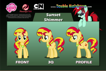 Unofficial DR Sunset Shimmer Puppet Rigs by Fakkom
