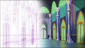 Twilight's castle - Corridor (Download)